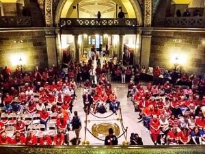 veto-rally